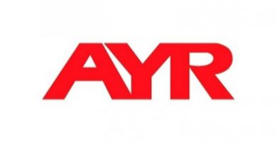 ayr logotipo mirilla digital