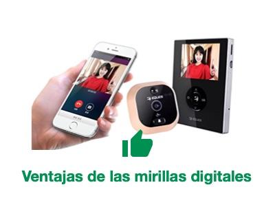 Ventajas de una mirilla digital
